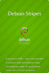 Debian Stripes by hadret