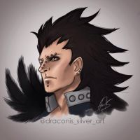 Iron Dragon by Draconis-Silver