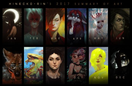 Summary of art 2017 by Hinecko-Rin