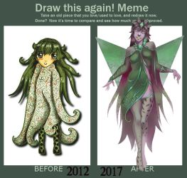 Meme  Before And After by NadiaDibaj