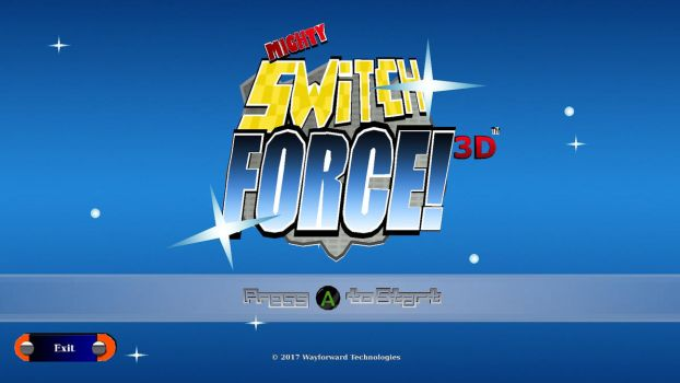 Mighty Switch Force! 3D Low Poly Fanart by JordanNVFX