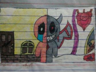Old TBoI Drawing by KittyLilyHeart