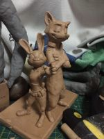 zootopia sculpture by WillowVO