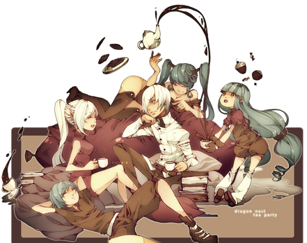 Dragon Nest : Tea Party by Neire-X