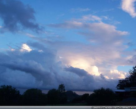 Glowing Straight cloud by comwhizz101