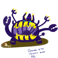 Pokemon a day - #004 Guzzlord
