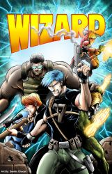 Jawbreakers Wizard Magazine Cover Mock-up by DCON