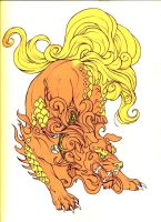 Foo Dog Color by DarkisHere