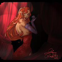 I'm all done - Jessica Rabbit by Kachumi