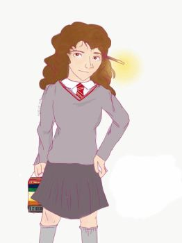 Hermione Granger by Origamimacaron