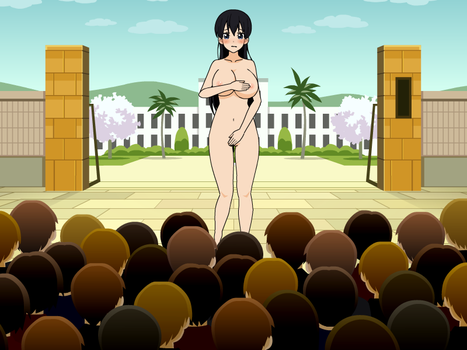 choose her fate #1 akiko-naked in public by danipatel