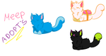 (Free) Kitty Adoptables CLOSED by veeeester400