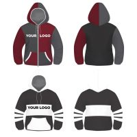 Hoodie, Sweater, T-Shirt Vector Template Free by modern2143