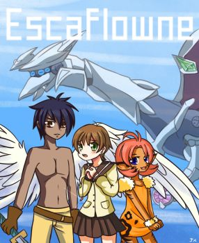 [FanArt] Escaflowne by frozenxnova