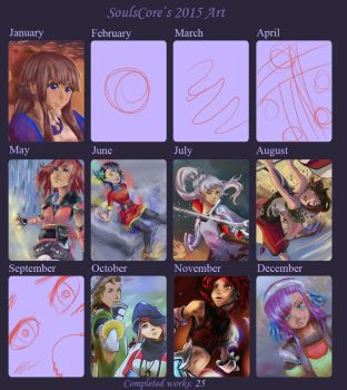 2015 Summary of Art by SoulsCore