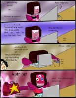 Garnet reacts to Rule 34 fanarts by kingofthedededes73