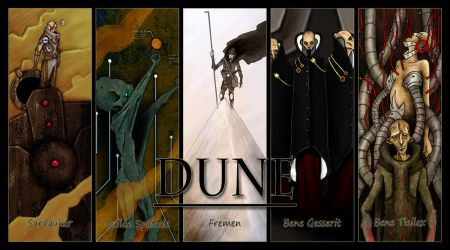 Dune Wallpaper by A-Fornerot