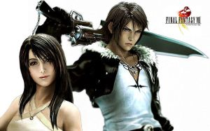 Squall and Riona - FF8 by christy0118