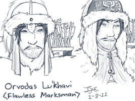 Old Sketches -- Orvodas Lu'khavi by Iivari-Matias