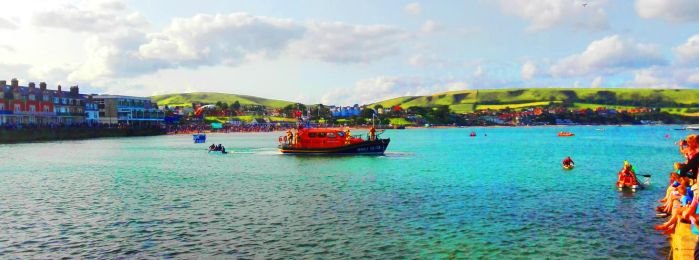 Swanage Boat Race by Cotterill23