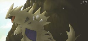 Pokemon: Shiny Tyranitar