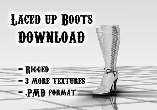 Laced up Boots DOWNLOAD by Reseliee