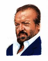 Bud Spencer by visualwings