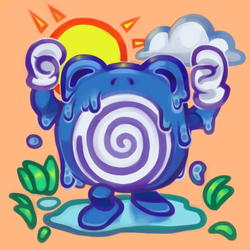 Sweaty Poliwhirl by reblog