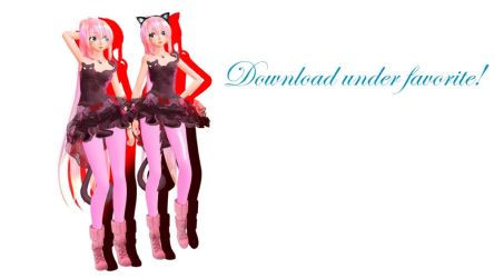 MMD TDA Cat Dress Luka (DL) by Solastraza