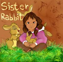Sister rabbit by NicoTopin