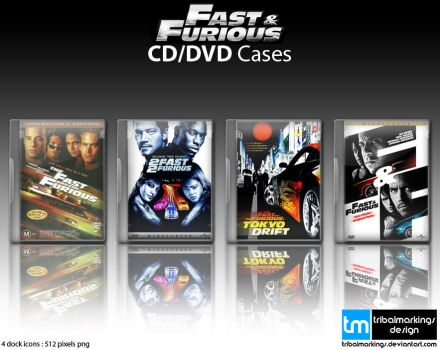 Fast + Furious DVD Covers by KillboxGraphics