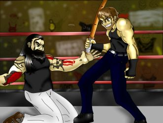 Lunatic Fringe vs the Eater of Worlds by thechainzter