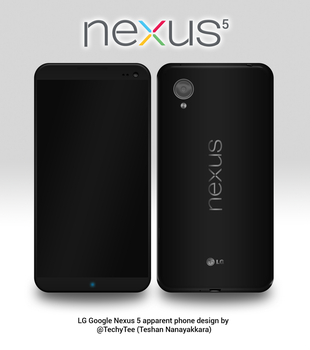 LG Nexus 5 Apparent Phone Design by teerox
