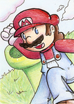 Mario ATC by Butterscotch25