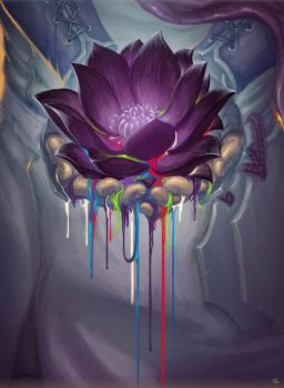 the Black Lotus by Steamhat