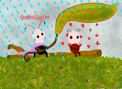 Only LOVE Should Rain On You by iSendYouALLmyLove