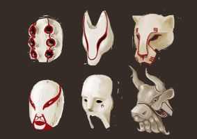 masks by Idioluck