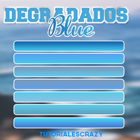 Degradados blue by tutorialescrazy by tutorialescrazy