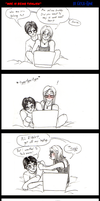 Comic - woe is being ticklish by Absolute-Sero