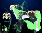 Gem Tribe Adopt - Sasha the Uunca (Closed) by Eradrom
