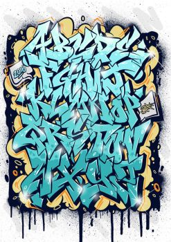 Themeaseven Graffiti Alphabets by TheDibsDibs