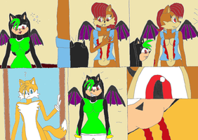 Sally the Vampire Queen comic page 8 by Power1x