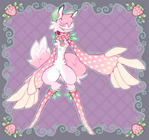 (closed) Strawberry Scarfox Auction by Kakiwa