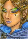 Exuberance - ACEO by MJWilliam