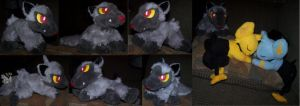 Poochyena Pokemon plush