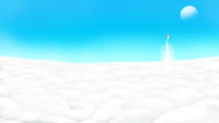 Daily Draw Feb.2017 - 9 - Above the Clouds by Wingcapman