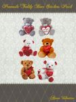 Premade Teddy Bear Stickers Pack by Lady-Valentine-Art83
