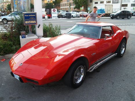 Big Red Corvette I by Neville6000