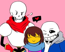 Skele Family by SynTheSaizer