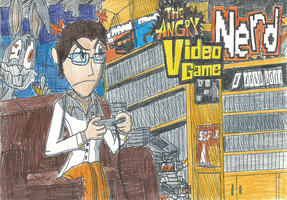 Angry Video Game Nerd by FelixToonimeFanX360